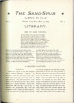 Sandspur, Vol. 01, No. 03, May 30, 1895 by Rollins College