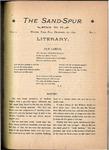 Sandspur, Vol. 02, No. 01, December 20, 1895