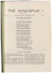 Sandspur, Vol. 03, No. 01, December 22, 1896 by Rollins College