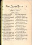 Sandspur, Vol. 04, No. 01, December 20, 1897