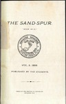 Sandspur, Vol. 05, No. 01, 1899
