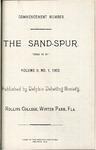 Sandspur, Vol. 08, No. 01, 1902 by Rollins College