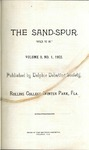 Sandspur, Vol. 09, No. 01, 1903