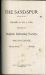 Sandspur, Vol. 10, No. 01, 1904