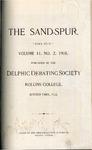 Sandspur, Vol. 11, No. 02, 1905