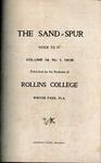 Sandspur, Vol. 14, No. 01, 1908 by Rollins College