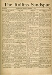 Sandspur, Vol. 18, No. 03, December 11, 1915