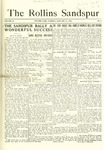 Sandspur, Vol. 18, No. 07, January 15, 1916 by Rollins College