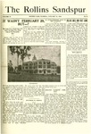 Sandspur, Vol. 18, No. 08, January 22, 1916 by Rollins College