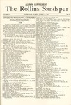 Sandspur, Vol. 18, No. 15, March 18, 1916 by Rollins College