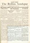 Sandspur, Vol. 18, No. 15, March 18, 1916. Alumni Number.
