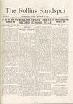 Sandspur, Vol. 19, No. 01, September 30, 1916