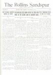Sandspur, Vol. 19, No. 09, November 23, 1916