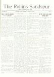 Sandspur, Vol. 19, No. 24, March 21, 1917 by Rollins College
