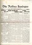 Sandspur, Vol. 20, No. 02, September 29, 1917 by Rollins College