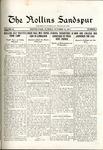 Sandspur, Vol. 20, No. 04, October 13, 1917 by Rollins College