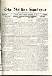 Sandspur, Vol. 20, No. 07, November 3, 1917 by Rollins College