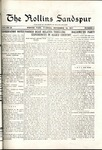 Sandspur, Vol. 20, No. 08, November 10, 1917 by Rollins College