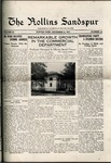 Sandspur, Vol. 20, No. 12, December 08, 1917 by Rollins College