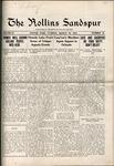 Sandspur, Vol. 20, No. 25, March 16, 1918 by Rollins College