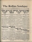 Sandspur, Vol. 22, No. 01, October 16, 1920 by Rollins College