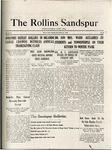 Sandspur, Vol. 22, No. 07, November 27, 1920 by Rollins College