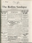 Sandspur, Vol. 22, No. 10, December 18, 1920 by Rollins College
