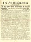 Sandspur, Vol. 24, No. 03, October 20, 1922