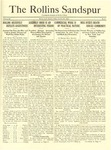 Sandspur, Vol. 24, No. 04, October 27, 1922 by Rollins College