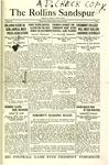 Sandspur, Vol. 25, No. 05, October 26, 1923 by Rollins College
