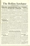 Sandspur, Vol. 25, No. 16, January 25, 1924 by Rollins College