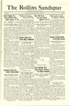 Sandspur, Vol. 25, No. 20, February 22, 1924 by Rollins College