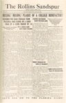Sandspur, Vol. 27, No. 06, October 30, 1925 by Rollins College