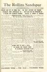 Sandspur, Vol. 27, No. 20, February 12, 1926