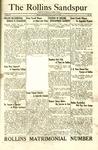 Sandspur, Vol. 27, No. 29, April 16, 1926