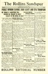 Sandspur, Vol. 27, No. 34, May 21, 1926