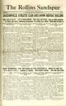 Sandspur, Vol. 28, No. 05, October 22, 1926 by Rollins College