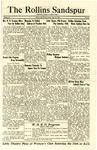 Sandspur, Vol. 28, No. 28, April 15, 1927