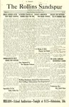 Sandspur, Vol. 28, No. 33, May 20, 1927