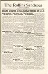 Sandspur, Vol. 29, No. 10, December 2, 1927