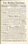 Sandspur, Vol. 29, No. 11, December 9, 1927