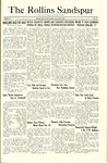 Sandspur, Vol. 30, No. 15, January 18, 1929 by Rollins College