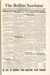 Sandspur, Vol. 30, No. 29, April 26, 1929 by Rollins College