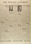 Sandspur, Vol. 32, No. 03, October 25, 1929
