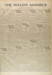 Sandspur, Vol. 32, No. 08, December 6, 1929 by Rollins College