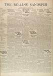 Sandspur, Vol. 32, No. 16, February 14, 1930 by Rollins College
