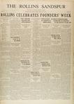 Sandspur, Vol. 32, No. 17, February 21, 1930