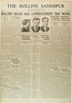 Sandspur, Vol. 32, No. 26, June 4, 1930 by Rollins College