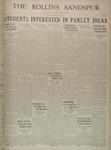 Sandspur, Vol. 33, No. 20, March 18, 1931