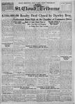 St. Cloud Tribune Vol. 17, No. 12, November 12, 1925